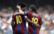 """Xavi chỉ ra lý do Messi """"xếp trên"""" Ronaldinho"""