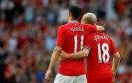 Đội hình chiến hữu vàng son của Ryan Giggs: Bất ngờ Arsenal, không Ronaldo, Vidic