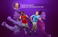ĐHTB Ngoại hạng Anh của Alan Shearer: Chỉ có 1 cái tên trong biên chế Man Utd