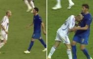 'Tôi không nói chuyện với Zidane suốt 2 năm sau cú húc đầu của anh ấy ở World Cup'