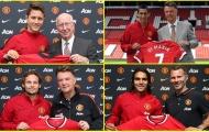 8 tân binh của Man Utd trong mùa hè năm 2014: Di Maria, Herrera và ai nữa?