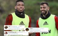 CĐV Man Utd lột trần sự thật về bức ảnh hiếm có của Pogba và Fernandes