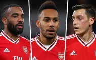 10 cầu thủ hưởng lương cao nhất Arsenal: Aubameyang, Lacazette 'hít khói' Ozil