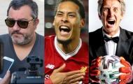 10 người Hà Lan ảnh hưởng nhất đến thế giới bóng đá hiện tại: Van Dijk dẫn đầu nhóm cầu thủ
