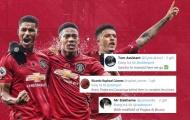 CĐV Man Utd: 'Hãy để Pogba và Fernandes yểm trợ cho bộ 3 huyền ảo đó'