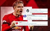 CĐV Man Utd: 'Mua cái tên ấy đi, dẫu sao vẫn xuất sắc hơn Lingardinho'