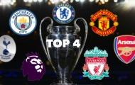 UEFA cho phép Premier League hủy bỏ, lộ diện 4 CLB giành vé dự Champions League