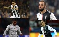 12 cầu thủ người Nam Mỹ từng gắn bó với Juventus trong giai đoạn 2017 - 2020