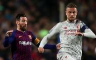 Vì sao Jordan Henderson không đổi áo với Messi?