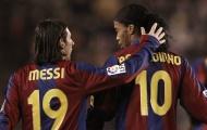 'Tôi sẽ chọn Ronaldinho trước Messi'