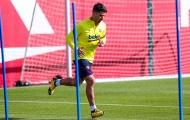 Barca chào đón 'quái thú' trong ngày trở lại tập luyện