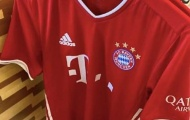 Chưa kết thúc mùa giải, Bayern tiết lộ áo đấu sân nhà 2020/21