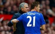 'Mourinho từng làm điều điên rồ ấy với Matic ngay giờ nghỉ giữa hiệp'