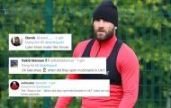 CĐV Man Utd: 'Nhìn Shaw béo lên kìa, anh ấy vừa mở cửa hàng McDonald's à'