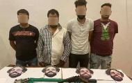 Cảnh sát Ai Cập bắt 4 tên cướp đeo mặt nạ Mohamed Salah