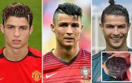 Ronaldo và những kiểu tóc kinh điển nhất theo thời gian