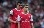 Jack Wilshere phản ứng ra sao khi Van Persie đến Man Utd?