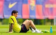 Chưa đá trở lại, Messi đã dính chấn thương