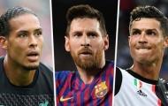 10 ngôi sao giá trị nhất hiện tại: Messi - Ronaldo - Van Dijk vắng mặt
