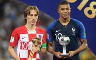 Modric: 'Đó là điều Mbappe cần làm để có thể thống trị thế giới bóng đá'