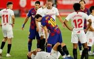 Messi nổi quạu tẩn đối thủ, Barca chờ 'dâng' ngôi đầu cho Real