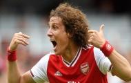 Quá bất ngờ, Arsenal định đoạt xong tương lai của David Luiz