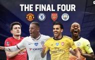 Kết quả bốc thăm bán kết FA Cup: Siêu phẩm London đại chiến Manchester