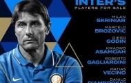 Conte chốt danh sách 11 cái tên cần thanh lý ở Inter
