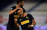 Sanchez xoay compa + đánh đầu đẳng cấp, Inter 'phả hơi nóng' vào Juve