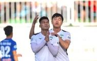 Giải mã màn ăn mừng của Vũ Văn Thanh sau khi phá lưới Quảng Nam