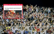 Báo Thái 'ghen tỵ' với V-League, choáng ngợp với NHM bóng đá Việt Nam
