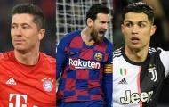 Top 10 tiền đạo đỉnh nhất châu Âu 2019/2020