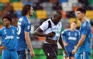Ronaldo nhạt nhòa, De Ligt mắc lỗi phút 90+2, Juve thua sốc Udinese