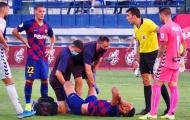 Tài năng trẻ chấn thương, Barca gặp rắc rối lớn trước màn đụng độ Napoli