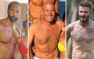 Top 10 body hoàn hảo của các cựu danh thủ bóng đá