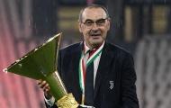 Sarri rạng rỡ trong ngày mang cúp vô địch vào bảo tàng của Juventus