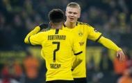 Erling Haaland lên tiếng 'xát muối' Man Utd khi Sancho ở lại Dortmund