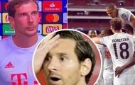 Bayern toàn diệt Barca, sao ĐT Đức tiện thể 'xát muối' Messi cực đau