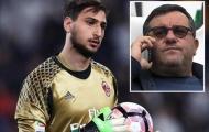 Mino Raiola tiếp tục lộng quyền, quyết mang Donnarumma rời Milan