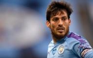 Man City có hành động đặc biệt để tri ân David Silva