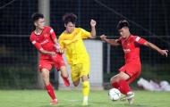 U22 Việt Nam thi đấu đối kháng, tích cực 'lấy điểm' với thầy Park