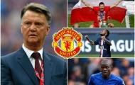 Đội hình 'cực phẩm' của Man Utd nếu chiều lòng Van Gaal