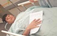 Tiếp tục phẫu thuật, Đình Trọng báo hung tin đến CLB Hà Nội