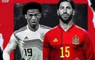 Đội hình kết hợp Đức - Tây Ban Nha: Thời vận lịch sử, tân binh Chelsea thứ 6