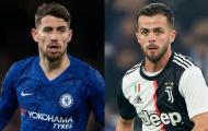 Đại diện tiết lộ, Chelsea đáp trả gắt đề nghị hoán đổi Jorginho - Pjanic