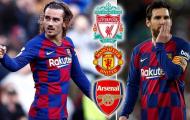 Messi ở lại, Barcelona chuẩn bị 'tống khứ' Griezmann sang EPL?
