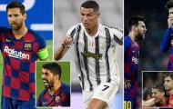 10 ngôi sao từng là đồng đội của Ronaldo lẫn Messi