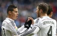James đến Anh, Ramos gửi ngay thông điệp khiến CĐV Real xúc động