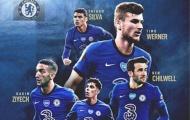Sau tất cả, trang chủ Chelsea công bố toàn bộ số áo mùa tới