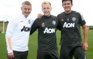 Van de Beek căng sức tập luyện, HLV và đội trưởng mừng ra mặt